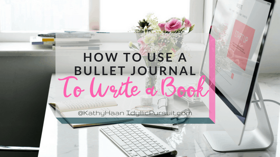 How to Use Your Bullet Journal to Help You Write a Book